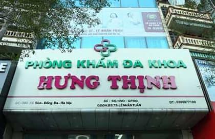 Phòng khám phụ khoa Hưng Thịnh